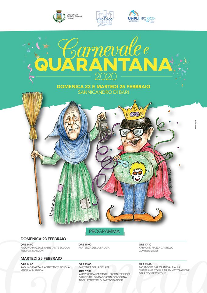 Sannicandro (BA) – Carnevale e Quarantana 2020
