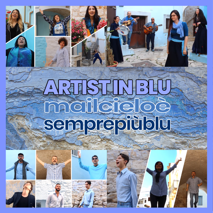 Casamassima (BA) – Artisti uniti per il territorio: a Casamassima 'il cielo è sempre più blu'