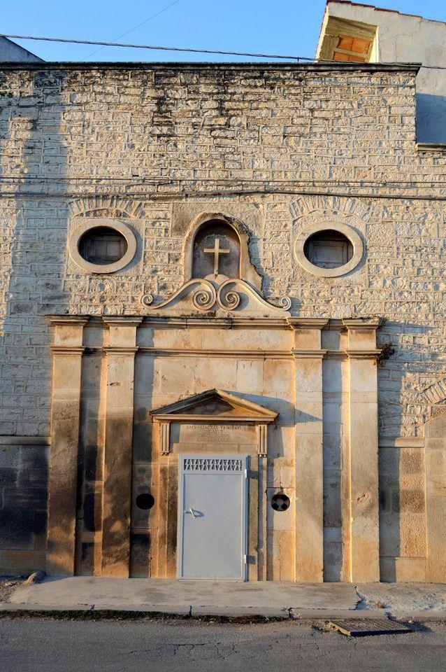 Ruvo di Puglia (BA) – Apertura straordinaria della Chiesetta della Santissima Trinita'