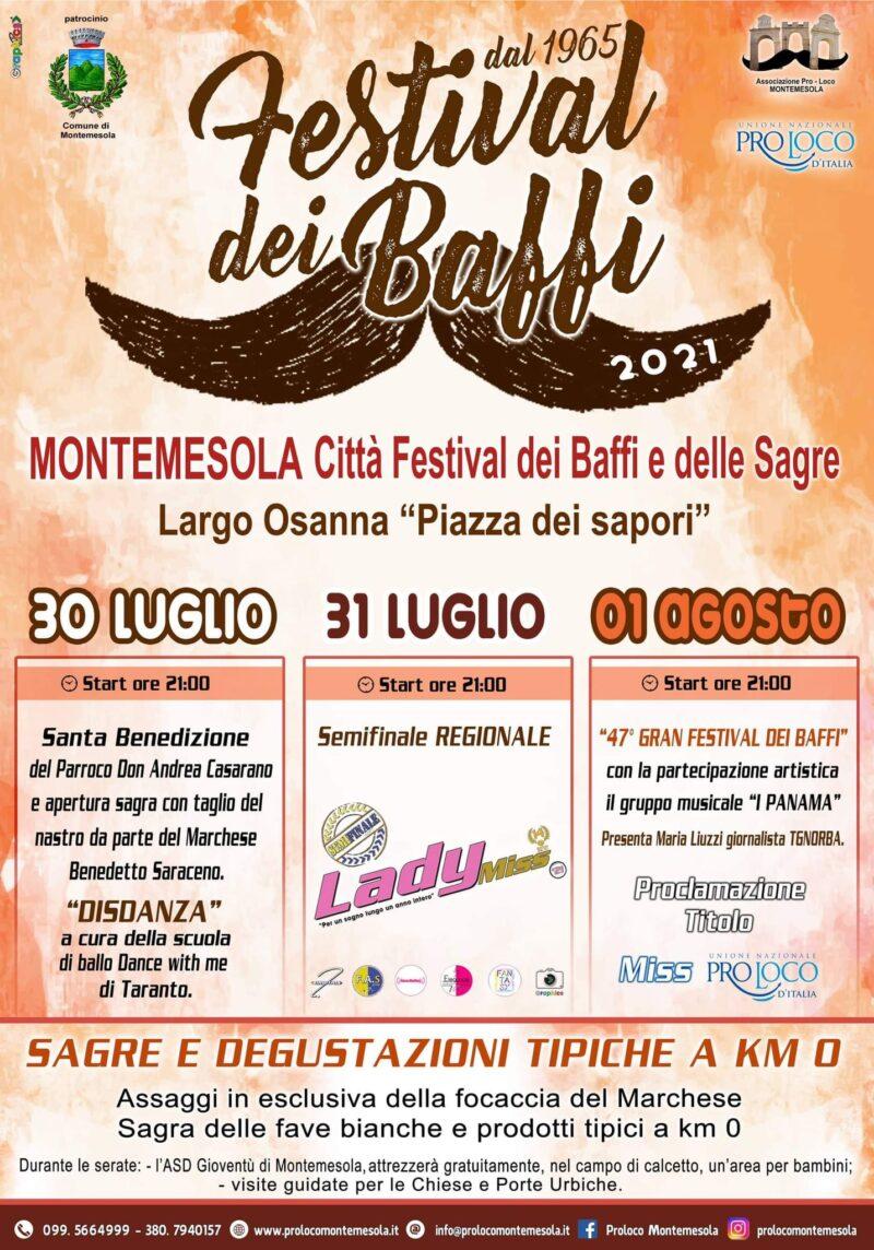 Montemesola (TA) – Festival dei Baffi 2021